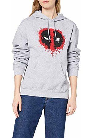 Marvel Women's Deadpool Splat Face Hoodie