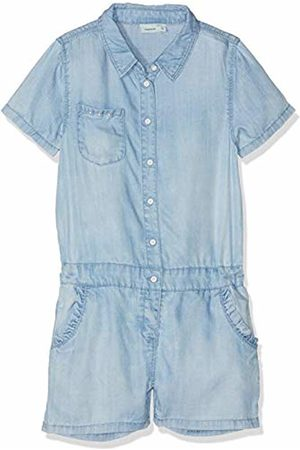 Name it Girls' NKFBINIE DNM 1181 Suit Overalls