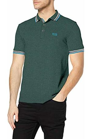 HUGO BOSS Men's Paddy Polo Shirt Plain Regular Fit Polo Shirt