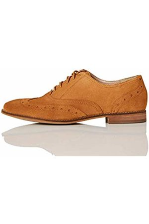 FIND Leather Brogues, (Tan)