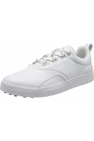 adidas Women's W Adicross Ppf Golf Shoes, (Blanco/Plata Bb8027)