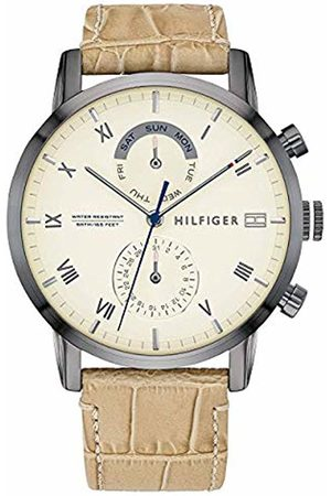 Tommy Hilfiger Men's Analogue Quartz Watch with Leather Strap 1710399