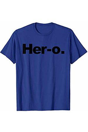 Miftees Her-o novelty Female Superhero T-Shirt
