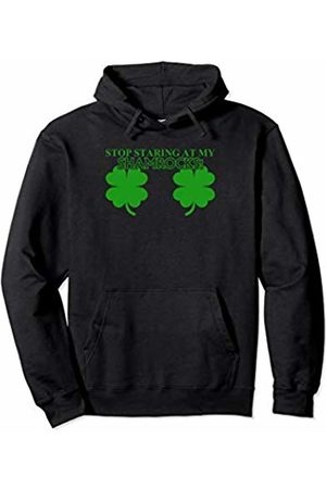 Quality pop design gift St Patricks day t shirts for women shamrock Pullover Hoodie