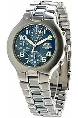 ChronoTech Mens Chronograph Quartz Watch with Stainless Steel Strap CT7059-03M