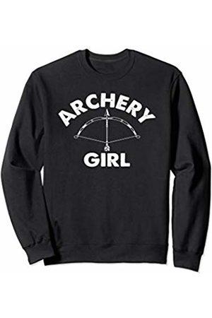 Addicted Archery Gifts Archery Girl- Archery Bow and Arrow Sweatshirt