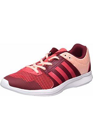 adidas Women's Essential Fun Ii W Gymnastics Shoes, (Collegiate Burgundy/core /Haze Coral)