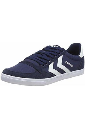 Hummel Trainers - Unisex Adults Slimmer Stadil Canvas, Low-Top Sneakers, (Dress / 7647)