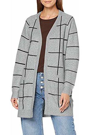 Vero Moda Women's Vmdoffy Jacquard Ls Check Cardigan Boo