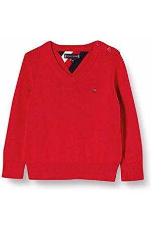 Tommy Hilfiger Jungen Essential V-Neck Sweater Sweatshirt