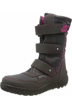 Richter Kinderschuhe Husky, Girls' Snow Boots Snow Boots, (steel/fuchsia 6501)