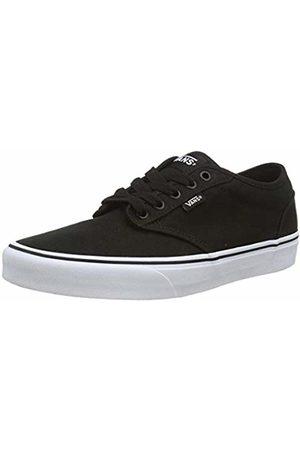 Vans Men's Atwood Canvas Low-Top Sneakers, (Blk / Wht 187)