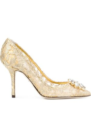 Dolce & Gabbana Women Heels - Bellucci Taormina lace pumps