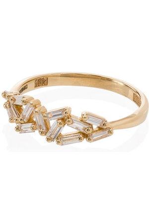 Suzanne Kalan 18kt Cluster diamond ring