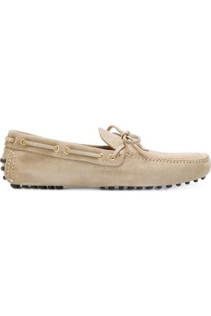 CAR SHOE Slip-on driving loafers - Neutrals