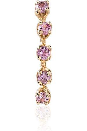 LOREN STEWART 14kt gold sapphire-embellished earring