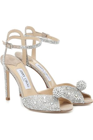 Jimmy choo Sacora 100 embellished sandals