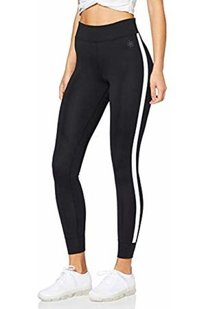 AURIQUE Side Stripe Sports Leggings