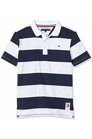 Tommy Hilfiger Boy's Wide Stripe Polo S/S Shirt