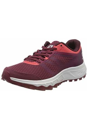 Salomon Women's Trail Running Shoes, TRAILSTER 2 W, Colour: Burgundy (Rhododendron/ Bud/Cayenne)