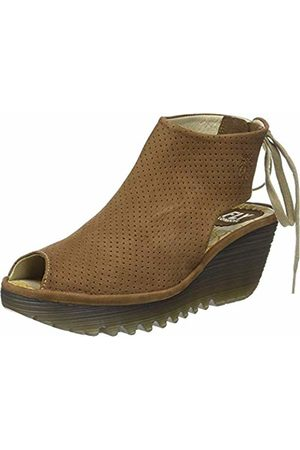 Fly London Women's Ypul799Fly Open Toe Sandals, (Sand)