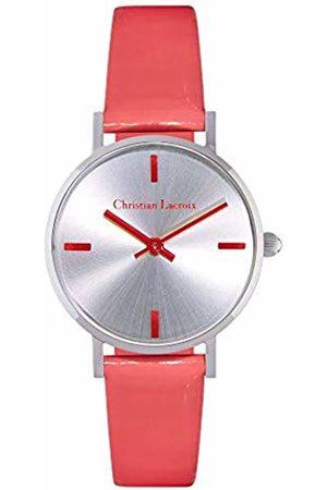Christian Lacroix Womens Quartz Watch with Leather Strap CLFS1813