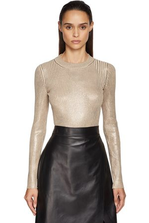 Sportmax Lamé Knit Sweater
