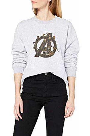 Marvel Women's Infinity War Avengers Logo Sweatshirt