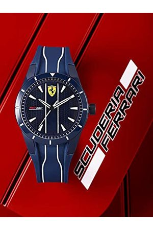 Scuderia Ferrari Mens Analogue Classic Quartz Watch with Silicone Strap 0830541