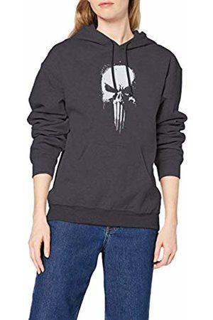 Marvel Women's Knights Paintspray Skull Hoodie