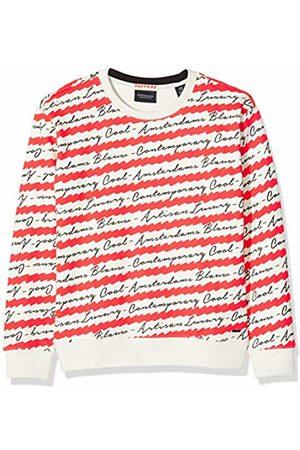 Scotch&Soda Girl's Allover Printed Crewneck Sweat Sweatshirt