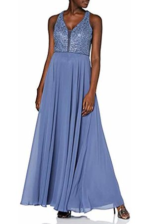 Vera Mont Women's 8025/4000 Party Dress, (Gray 8135)