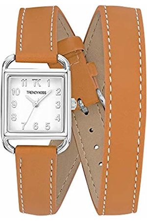 Trendy Kiss Trendy Kiss Womens Analogue Quartz Watch with Leather Strap TC10115-01