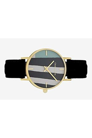 Christian Lacroix Womens Quartz Watch with Leather Strap CLFH1818