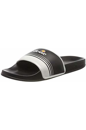 Ellesse Men's Filippo Jacquard Open Toe Sandals, ( / Blk/Wht)