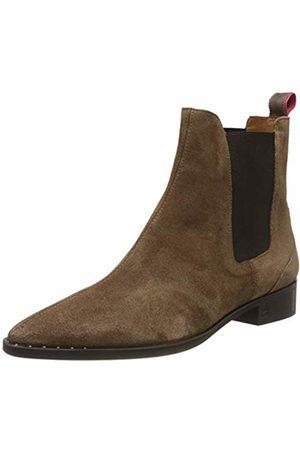 SCOTCH & SODA FOOTWEAR Women's Opal Chelsea Boots, (mud S461)