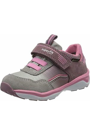 Superfit Girls' Sport5 Low-Top Sneakers, (Lila/Rosa 90)