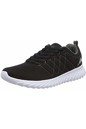 Kappa FESTY, Unisex Adults' Low-Top Trainers, Schwarz ( / 1116)