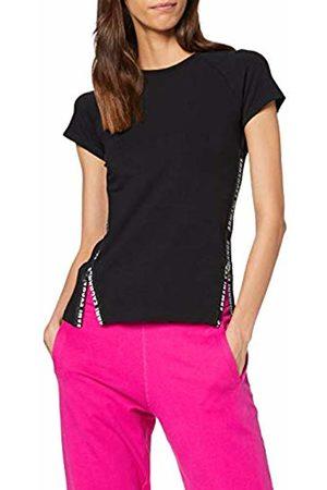 Armani Women's Logo & Zipper T-Shirt