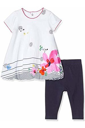 Catimini Baby Girls' Cq30021 Robe+Legging Clothing Set