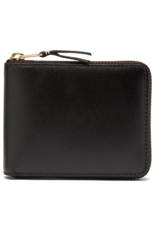 Comme des Garçons Zip-around Leather Bi-fold Wallet - Mens