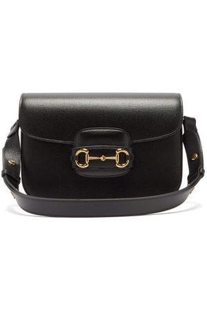 Gucci 1955 Horsebit Leather Shoulder Bag - Womens