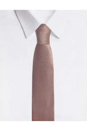 Dolce & Gabbana Ties and Pocket Squares - 6CM BLADE TIE IN SILK JACQUARD