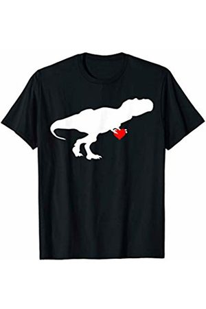 Miftees T Rex holding Heart funny Valentines t-rex T-Shirt