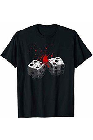Tfantasy Lucky 7-Dice roll-Seven deadly sins-Gambling T-Shirt