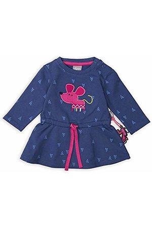sigikid Baby Girls' Langarm-Kleid Dress, ( 758)
