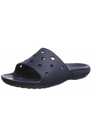 Crocs Unisex Adult's Classic Slide Open Toe Sandals, (Navy 410)