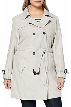 Ulla Popken Women's Trenchcoat mit Gürtel Coat