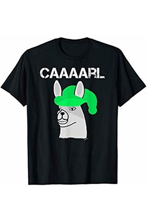 llama shirt collection by Jean Olivier Funny llama with hats lama with hat carl what did you do T-Shirt