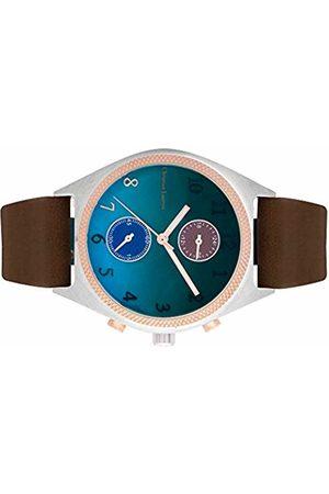 Christian Lacroix Mens Quartz Watch with Leather Strap CLMS1802